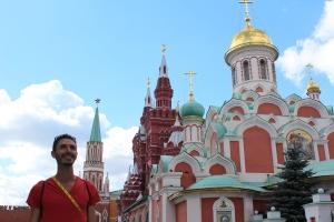 Alex Genest in Red Square
