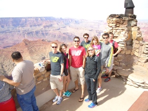 A trip to the Grand Canyon during last trip to Flagstaff